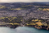 Aerial photo of St Austell.