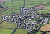 Aerial photo of St Buryan.