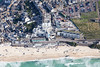 Aerial photo of The Tate St Ives.