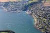 Aerial photo of St Mawes.