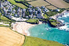 Aerial photo of Trevone.