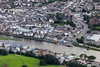 Aerial photo of Wadebridge.