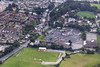 Aerial photo of  Wadebridge School and Wadebridge Town Football Club.