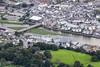 Aerial photo of Wadebridge.
