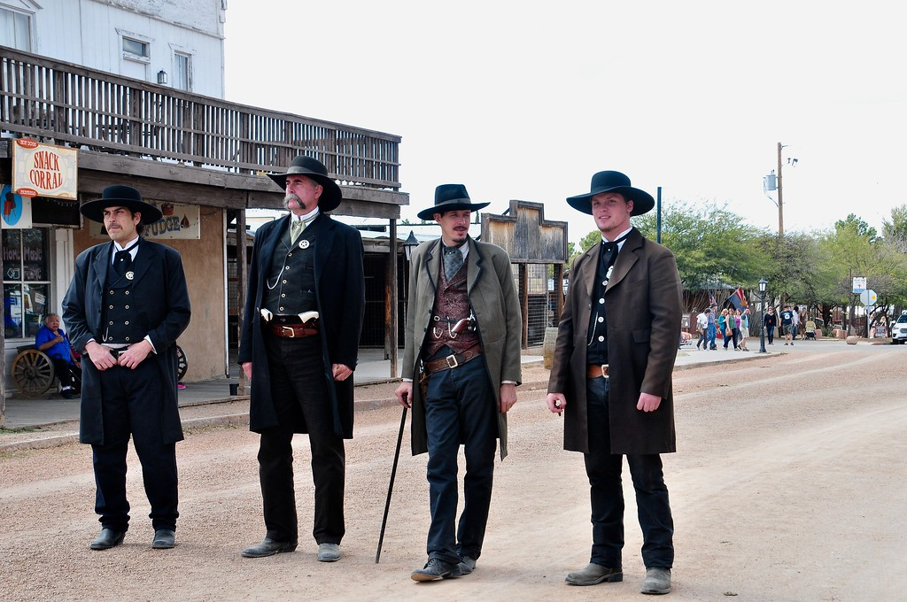 The Earp Brothers and Doc Holliday