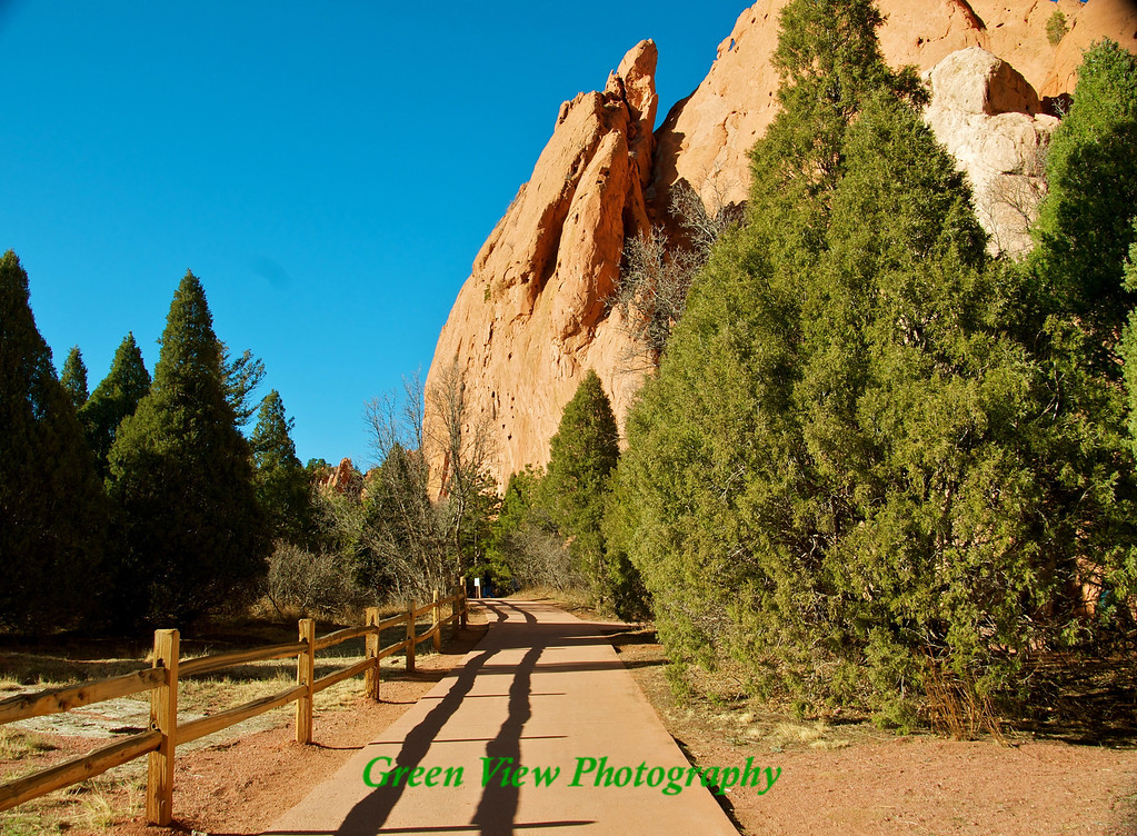 Walk through the Garden of the Gods