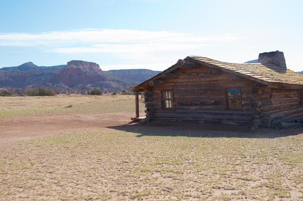 Cabin on Ghost Rance where City Slickers was made, AZ