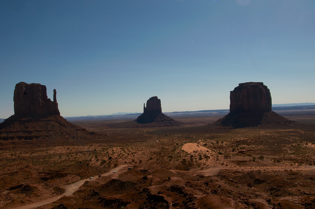 The Mittens - Monument Valley, AZ