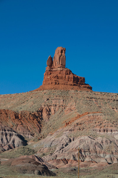 The Mittens and Merrick Butte, Monument Valley, Navajo Tribal Park, AZ