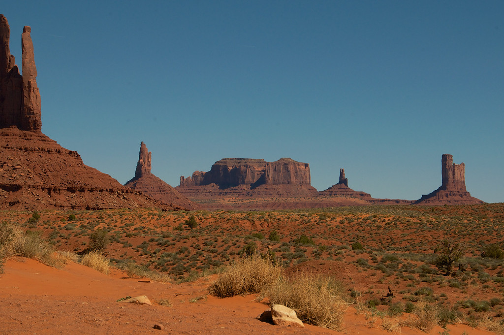Totem Pole, Monument Valley, AZ