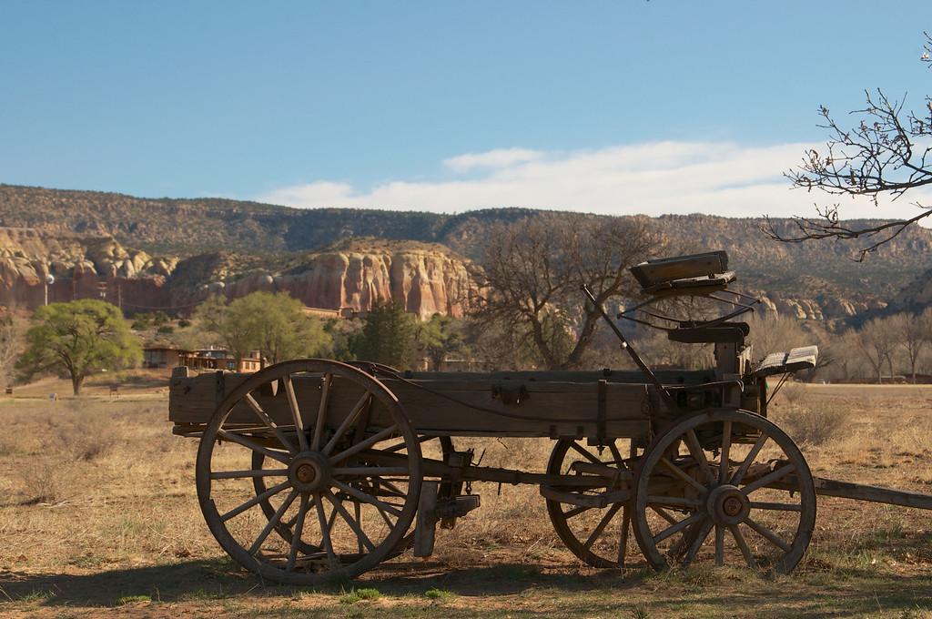 Buckboard in  Ghost Ranch, AZ