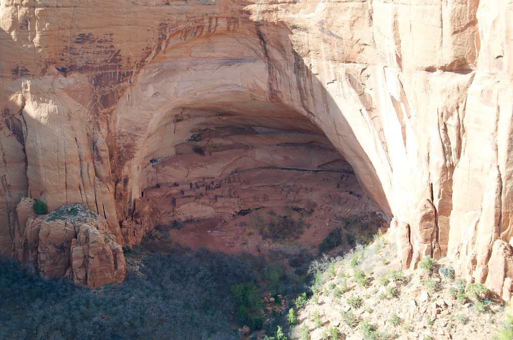Betatakin Dwellings, Navajo National Monument, AZ -- Ledge House