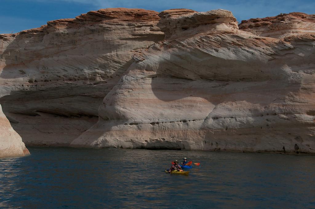 Kayakers enjoying the day