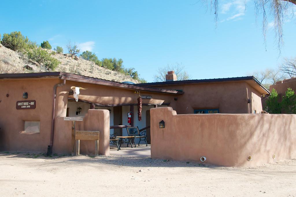 Georgia O'Keefe's little cabin at Ghost Ranch, AZ
