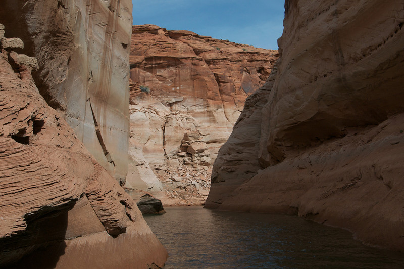 Through the Rocks, Antelope Canyon, AZ