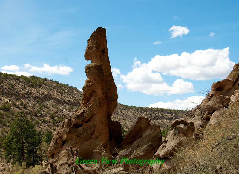 Neat rock formation