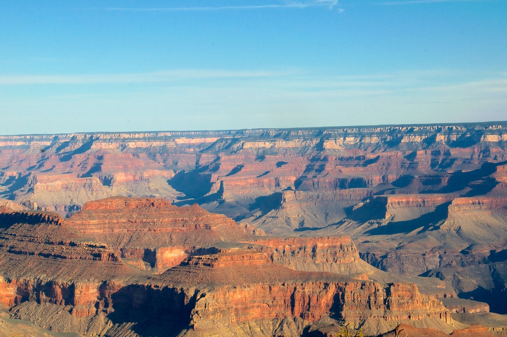 Layes of Rock formations, Grand Canyon