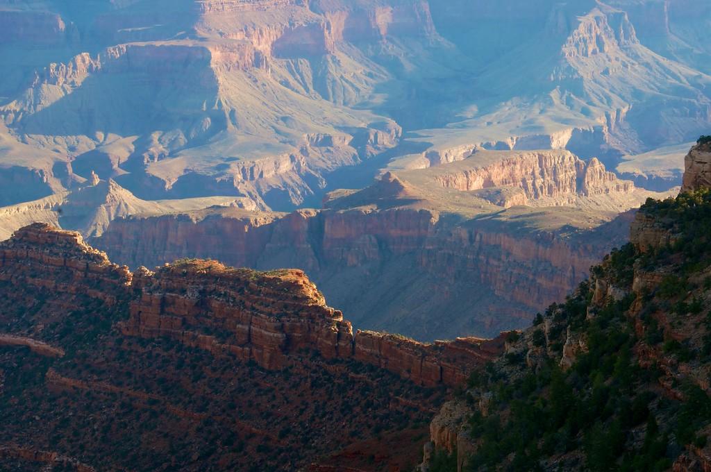 Sunlight on Grand Canyon