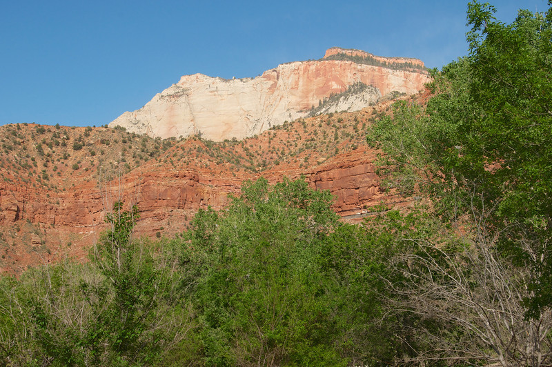 Beautiful mountains in Zion, NP