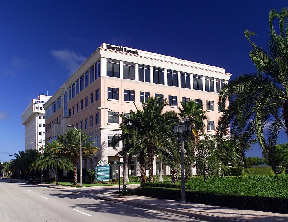 Merrill Lynch Boca from NNW locBoaA in Background