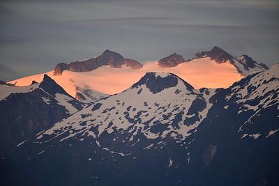 Baranof Island Alpenglow
