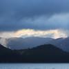 Chatham Strait sunset.