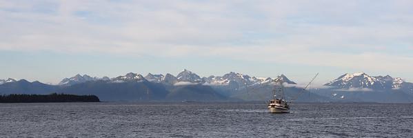 Fishing Vessel on Sitka Sound