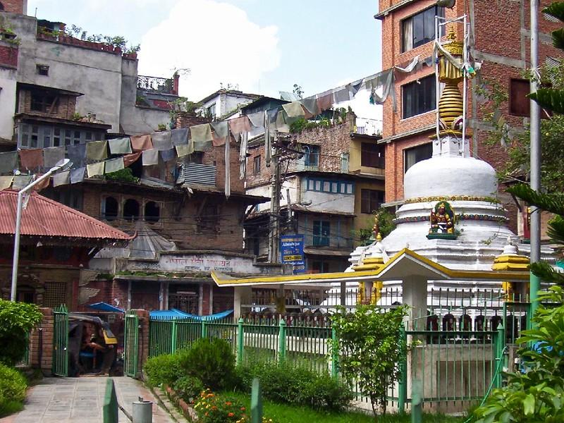 small pagoda in Kathmandu, Nepal