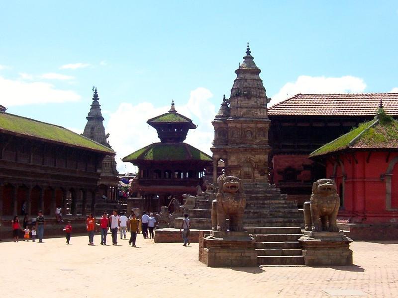 Bhaktapur Durbar Square in Kathmandu, Nepal