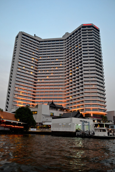 The Royal Orchid Sheraton from the river