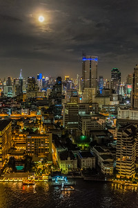 The Bangkok Skyline, Chao Phraya River