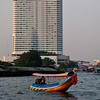 Longtail boats on the Chao Phraya