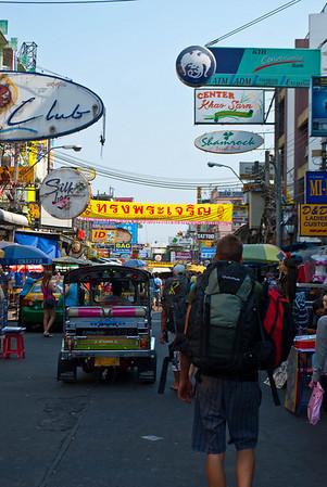 Bangkok's Khaosan Road