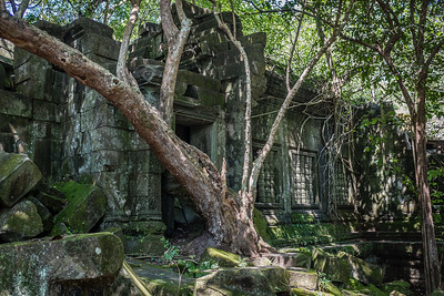 Beng Mealea Temple 40 miles from Angkor Wat, Siem Reap, Cambodia