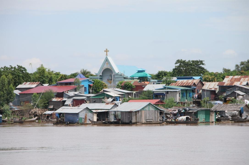 Catholic Church across The Mekong