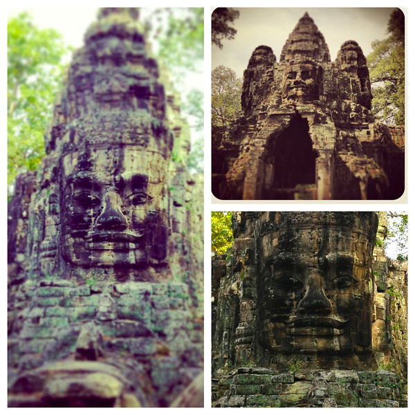 Some shots from Angkor Thom's Victory Gate