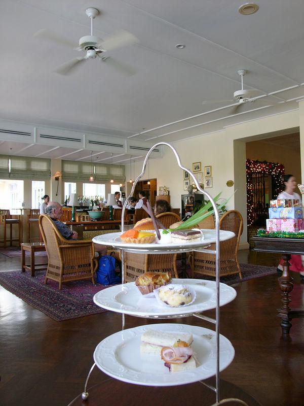 Tea at Raffles Hotel