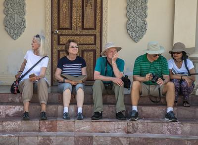 Royal Palace - Tourists