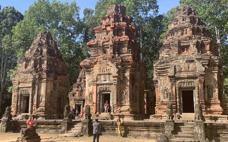 solo travel in cambodia is enjoyable with seeing the temples