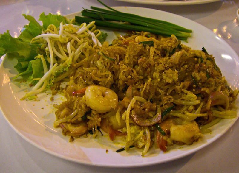 Pad Thai with prawns - my favorite!