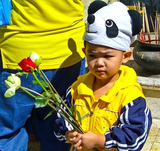 An offering at Doi Suthep