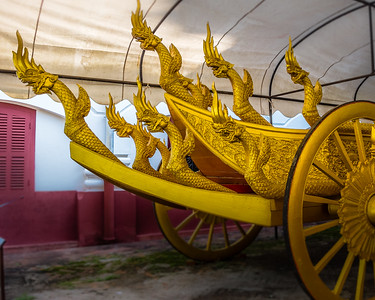 Funeral Carriage for King Sisavang Vong.