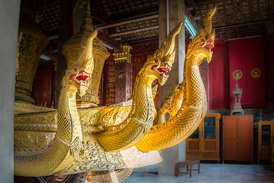 Funeral Carriage at the Xieng Thong Temple in Luang Prabang, Laos