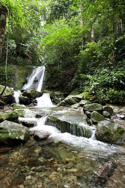 Poring waterfall