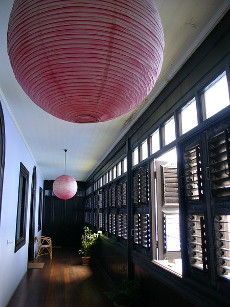 Corridor on 1/F, Cheong Fatt Tze Mansion