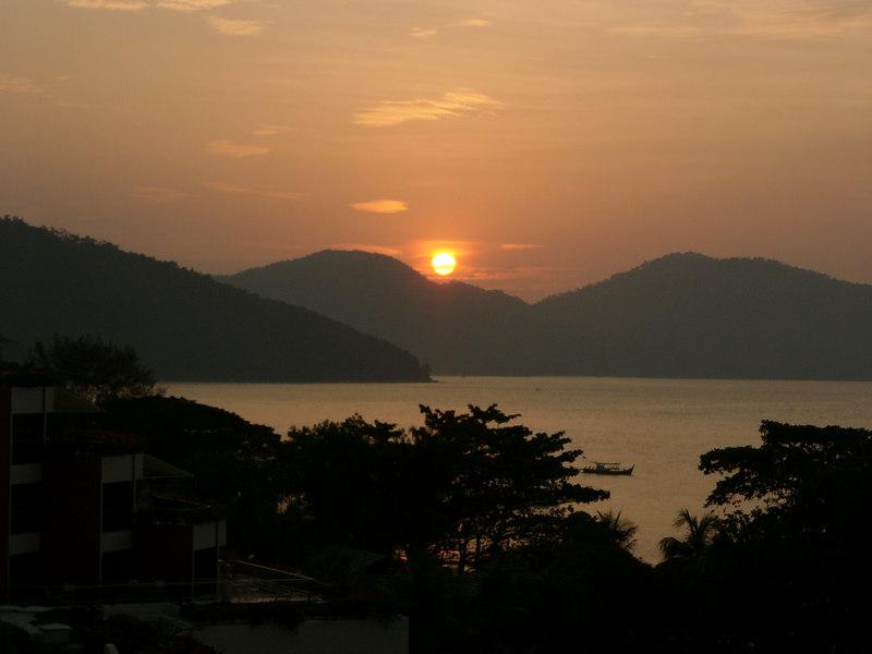 Sunset at Batu Ferringhi Beach