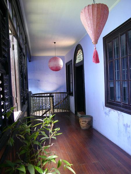 Corridor on 1/F, Cheong Fatt Tze Mansion