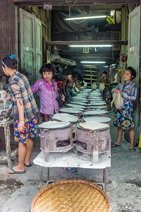 Yangon, Myanmar, the Day Market