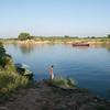 The river at  Inwa (Ava)