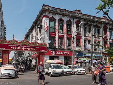 Yangon (Rangoon), Myanmar (Burma), March 2016
